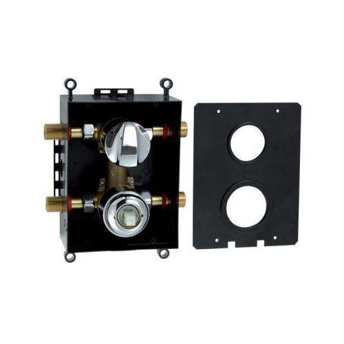 Produkt z kategorii- pozostałe artykuły hydrauliczne - Ferro Box050R - box podtynkowy - dwufunkcyjny
