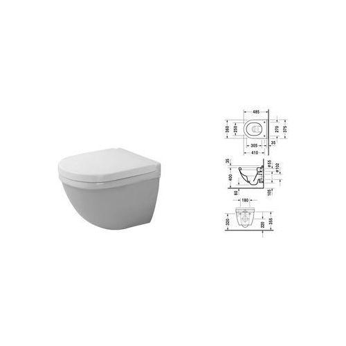 Duravit Starck 3 muszla wc podwieszana Compact 22270900001 ()