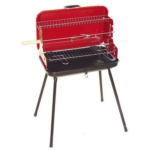Grill prostokątny  walizkowy 49x30x53cm, produkt marki Dr Grill