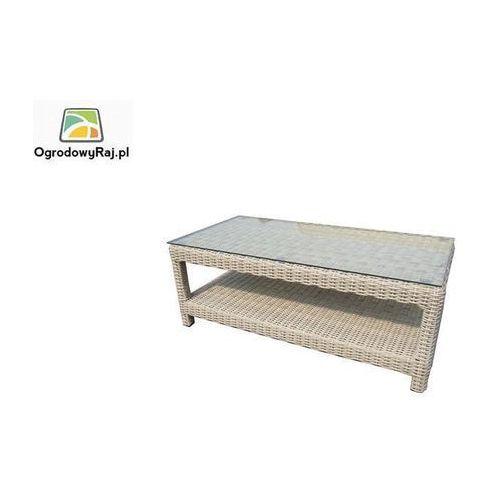 Stolik ogrodowy CORTINA ze szklanym blatem CORTINA-STOL-100X50X40-R26/S (stół ogrodowy)