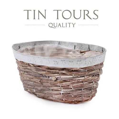 Produkt OWALNA OSŁONKA WIKLINOWA 29x20x15 cm, marki Tin Tours Sp.z o.o.