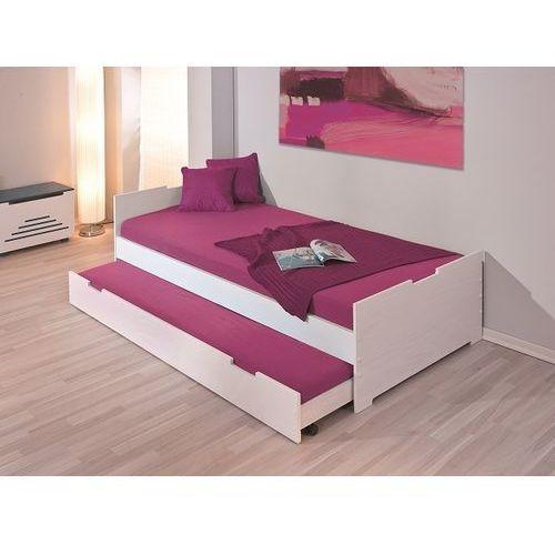 Łóżko Camilla biały/fioletowy ze sklepu FUTURI Nowoczesne Meble