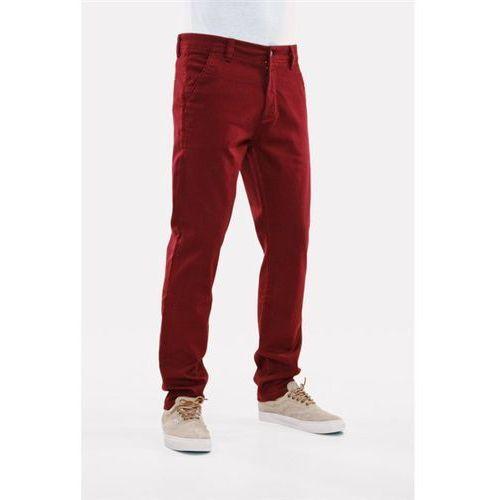 spodnie REELL - Slim Stretch Chino Wine Red (WINE RED) rozmiar: 34/34 - produkt z kategorii- spodnie męskie