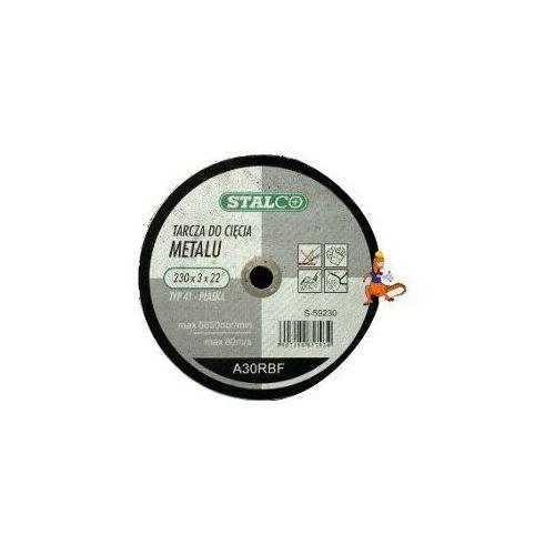 Oferta TARCZA DO CIĘCIA METALU PŁASKA 230x3, 0x22MM FIRMA STALCO (S-59230)