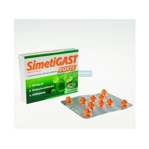 SimetiGast Forte 10 kaps. - produkt farmaceutyczny