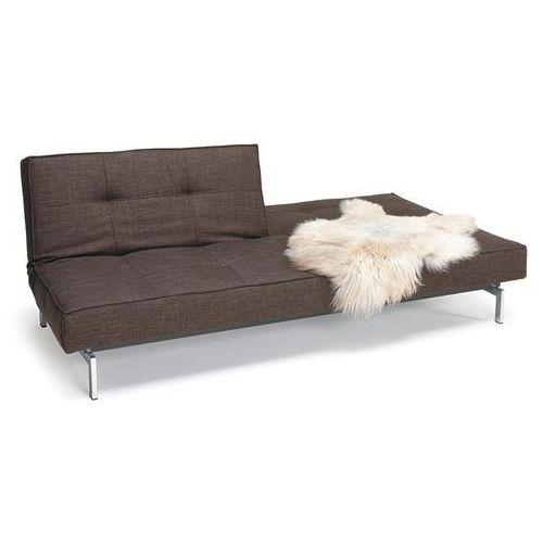 Istyle Splitback Sofa Rozkładana, brązowa Tkanina 503, nogi do wyboru - 741010503