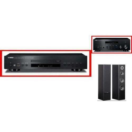 YAMAHA R-S500 + CD-S300 + QUADRAL QUINTAS 6500 - wieża, zestaw hifi - zmontuj tanio swój zestaw na stronie
