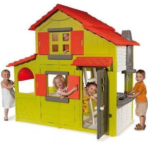 Towar  Dwupoziomowy Domek Duplex z dzwonkiem, 320021 z kategorii pozostałe meble ogrodowe