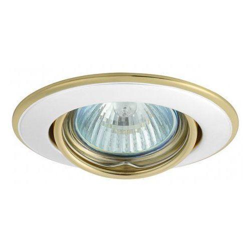 Kobi Oprawa oprawka led halogenowa ruchoma okrągła kolor perła/złoty OH115 4389 z kategorii oświetlenie