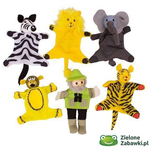 Oferta Pacynki na palec dla dzieci, przygoda na safari, BJ779-Bigjigs Toys (pacynka, kukiełka)