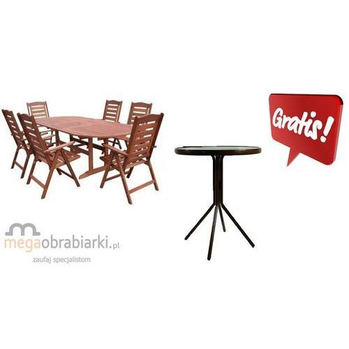 Produkt HECHT Zestaw ogrodowy - stół + 6 krzeseł Prague Set + stolik gratis!! RATY 0,5% NA CAŁY AS
