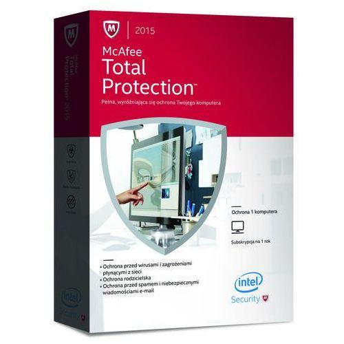 McAfee Total Protection 2014 KEY - 3 PC 1 ROK (McAfee) - produkt z kategorii- Pozostałe oprogramowanie