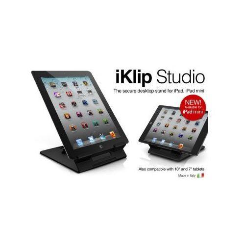 Oferta IK Multimedia iKlip Studio dla iPada Mini – uchwyt do iPada (instrument muzyczny)