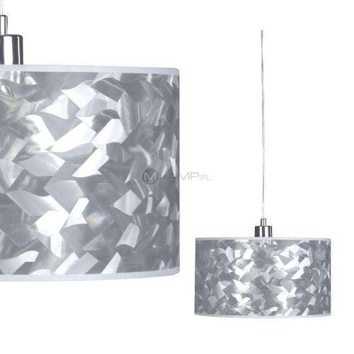 ŻYRANDOL abażurowy LAMPA wisząca OPRAWA do salonu VANNES Spotlight 5071140 chrom - sprawdź w MLAMP.pl - Rozświetlamy Wnętrza