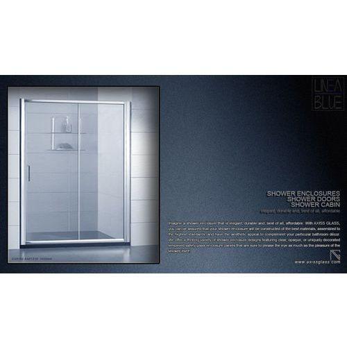 DRZWI PRYSZNICOWE AXISS GLASS AN6121D 1600mm (drzwi prysznicowe)