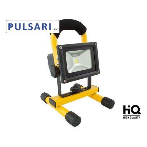 Naświetlacz Halogen Reflektor Lampa 10W z akumulatorem PULSARI LED sprawdź szczegóły w sklep.BestLighting.pl Oświetlenie LED
