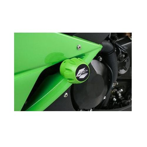 Puig y Kawasaki ZX6R; 2009-2012 (zielone)   TRANSPORT KURIEREM GRATIS z kat. crash pady motocyklowe
