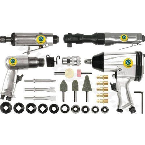 Zestaw narzędzi pneumatycznych 1/2cal z akcesoriami /VOREL/, kup u jednego z partnerów