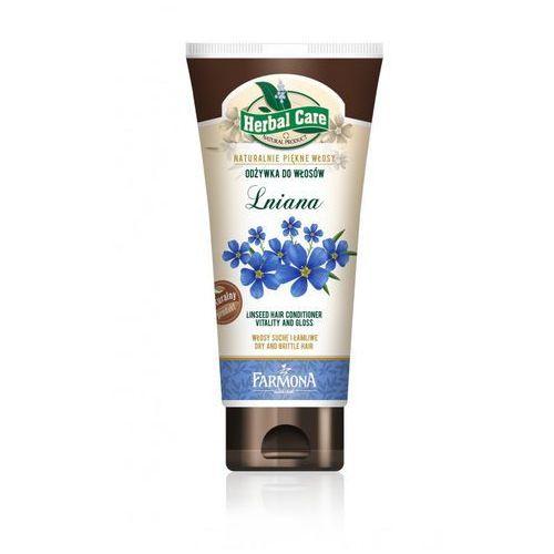 Herbal Care Odżywka do włosów Lniana 200ml - produkt z kategorii- odżywki do włosów