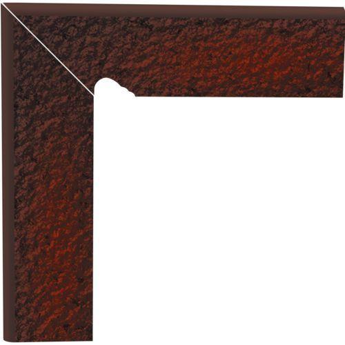 Oferta Cokół schodowy dwuelementowy strukturalny Cloud Brown Duro - BROWN - 30x30 lewy (glazura i terakota)