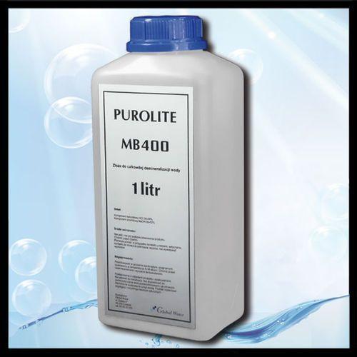 Złoże do demineralizacjii wody PUROLITE MB400 ()