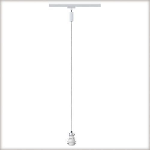 URail zwis do szyn 1x11W E27 230V biały z kategorii oświetlenie