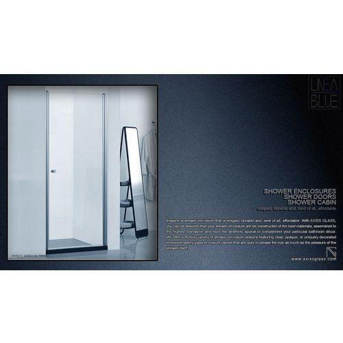 DRZWI PRYSZNICOWE AXISS GLASS AN6211K 700mm (drzwi prysznicowe)
