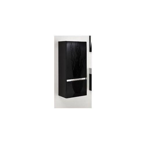 Szafka Antado FSM słupek 89 cm czarna lewa FSM-394GTL-48/48 - produkt z kategorii- regały łazienkowe