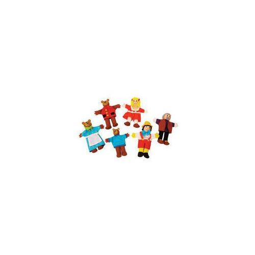 Pacynki Złotowłosa i Trzy Niedźwiadki Pinokio (pacynka, kukiełka)