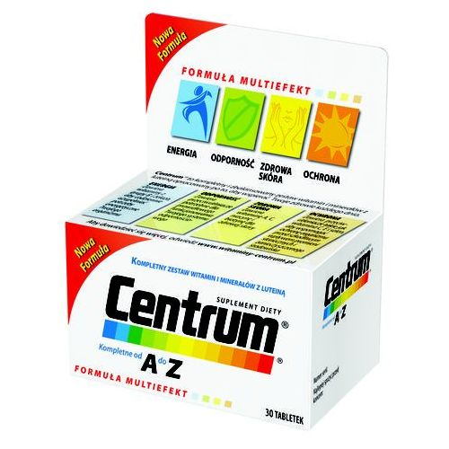 CENTRUM AZ MULTIEFEKT 60 tabletek, postać leku: tabletki