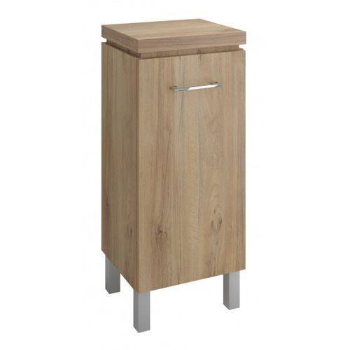 CERSANIT półsłupek Olivia orzech S543-019 - produkt z kategorii- regały łazienkowe