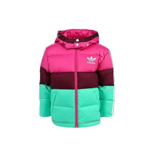 Kurtka dziecięca juniorska I Down Jacket zimowa puchowa dla dziewczynek, Adidas z Marionex