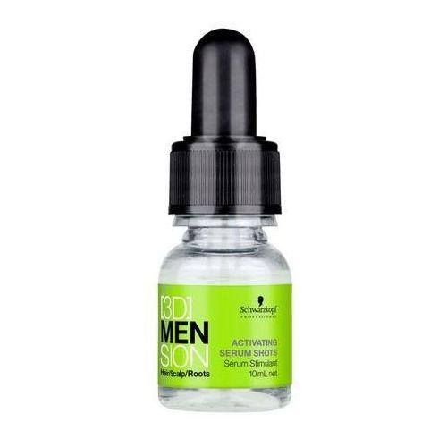 Produkt z kategorii- odżywki do włosów - Schwarzkopf 3DMENsion Activating Shots Serum 70ml M Odżywka do włosów + Próbka perfum GRATIS + Wysyłka od 6zł!