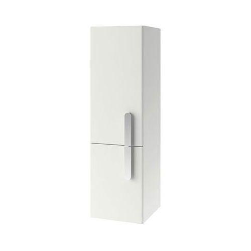 Produkt z kategorii- regały łazienkowe - CHROME - Słupek SB 350 biały, lewy