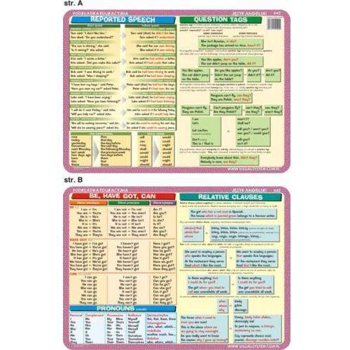 Język angielski - podkładka edukacyjna nr 042 - oferta [e5c0e902513213a4]