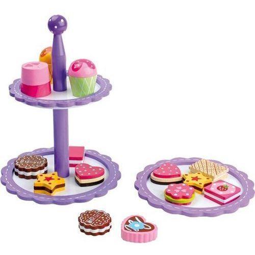 Etażerka z ciasteczkami i czekoladkami do zabaw w dom dla dzieci oferta ze sklepu www.epinokio.pl