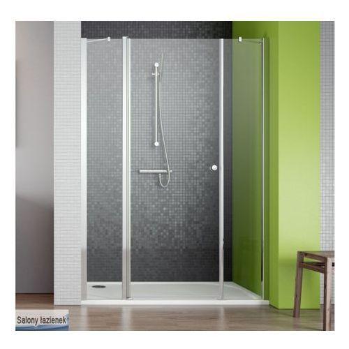 Oferta Drzwi wnękowe ze ściankami bocznymi 140 EOS II DWS Radaway (3799456-01L) (drzwi prysznicowe)