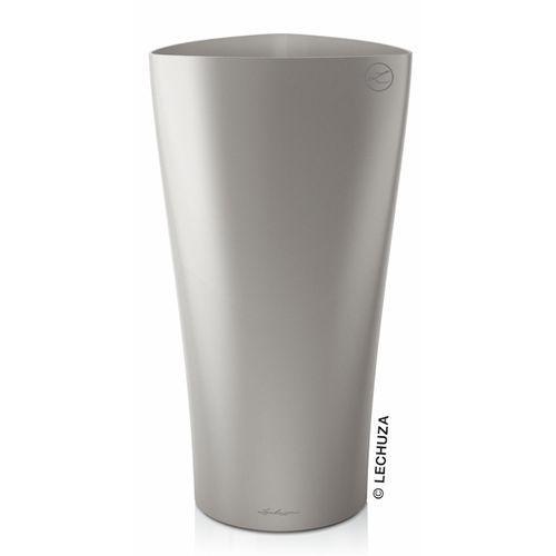 Produkt Donica Lechuza Delta 30 | 40 srebrna, marki Produkty marki Lechuza