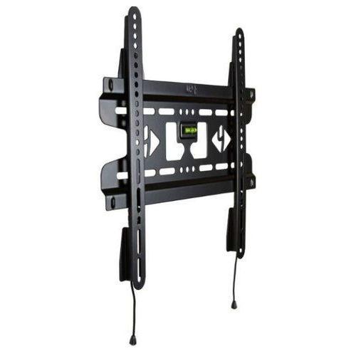 Uchwyt ścienny do lcd 25''- 42'' slim podwójne mocowanie max.45kg czarny od producenta 4world