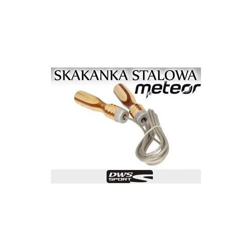 PROFESJONALNA SKAKANKA TRENINGOWA SPECJALISTYCZNA METALOWA LINKA METEOR, produkt marki Meteor