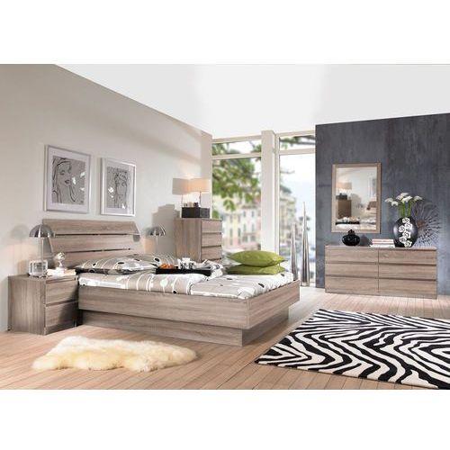 NAIA stylowe łóżko truflowe 140x190 ze sklepu Meble Pumo