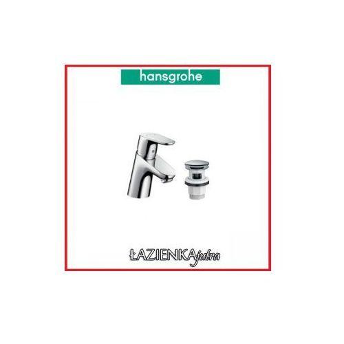 Produkt z kategorii- pozostałe artykuły hydrauliczne - HANSGROHE FOCUS E2 Bateria umywalkowa + korek click-c