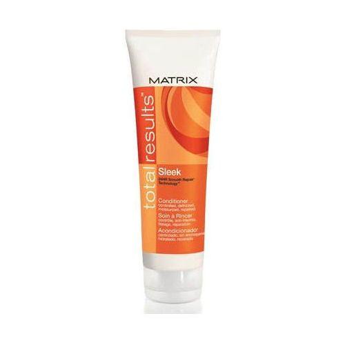MATRIX TOTAL RESULTS SLEEK ODŻYWKA 250ml PIELĘGNUJE I WYGŁADZA ROZDWOJONE KOŃCÓWKI - produkt z kategorii- odżywki do włosów