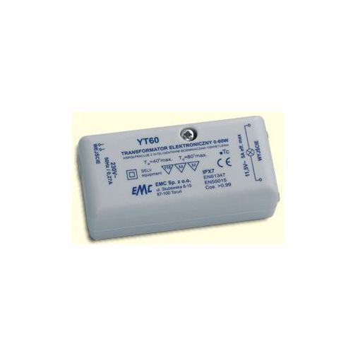 Transformator elektroniczny YT60 EMC 12V - 60W z kategorii Transformatory