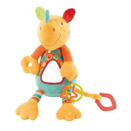 Zabawka FEHN River Gang Nosorożec wibrująca z lusterkiem - produkt dostępny w Media Expert