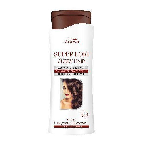JOANNA SUPER LOKI ODŻYWKA DO WŁOSÓW KRĘCONYCH I FALOWANYCH 400G - produkt z kategorii- odżywki do włosów