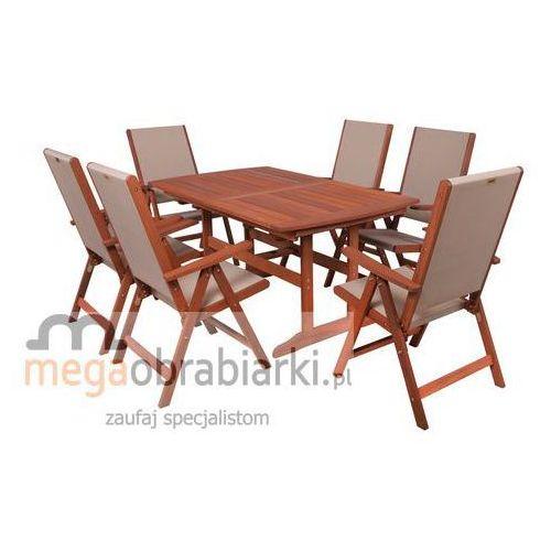 HECHT Zestaw mebli ogrodowych stół + 6 krzeseł Milano Set DZWOŃ I NEGOCJUJ CENĘ 77 415 31 82 !!!!!!!