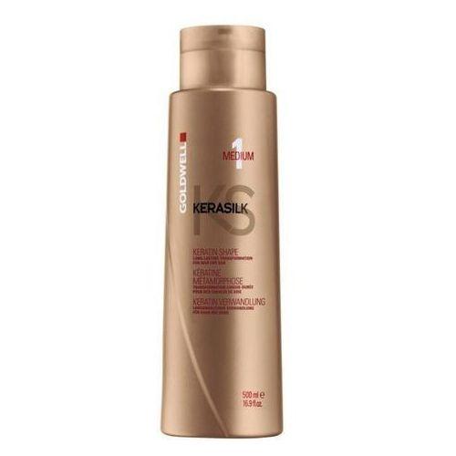 Goldwell Keratin Treatment Shape Medium - keratynowy zabieg prostowania 500ml - produkt z kategorii- odżywki do włosów