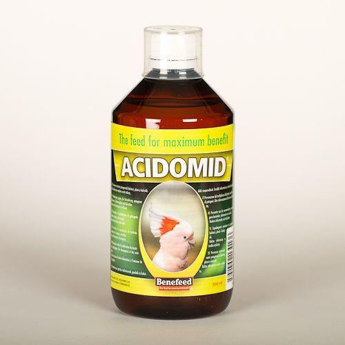 ACIDOMID E - 500ml - NIEZBĘDNIK HODOWCY PTAKÓW