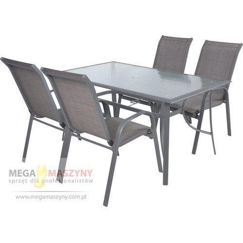 HECHT Zestaw mebli ogrodowych Sofia Stół + 4 krzesła od Megamaszyny - sprzęt dla profesjonalistów